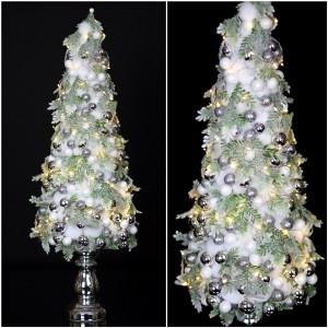 Choinka świąteczna lampkami LED Nr 684