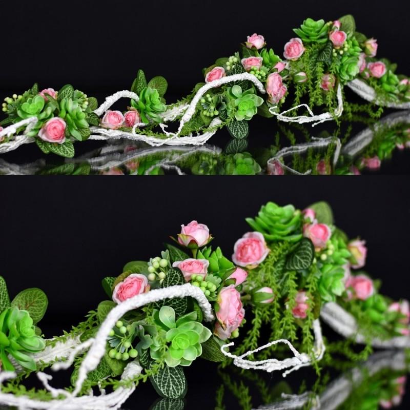 Girlanda kwiatowa Nr 508