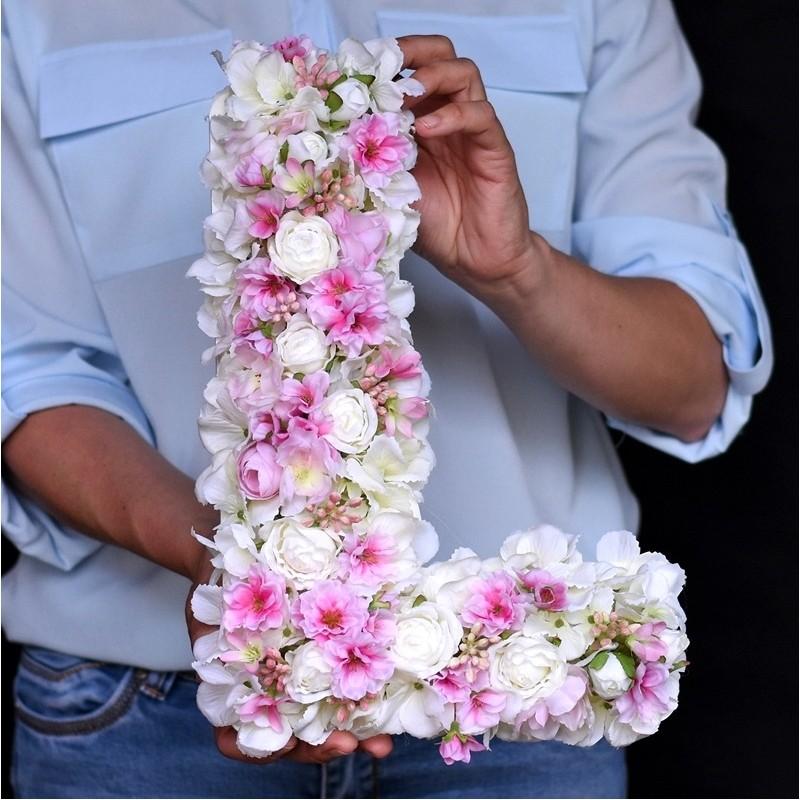 """Kwiatowa """"L"""" 35cm"""