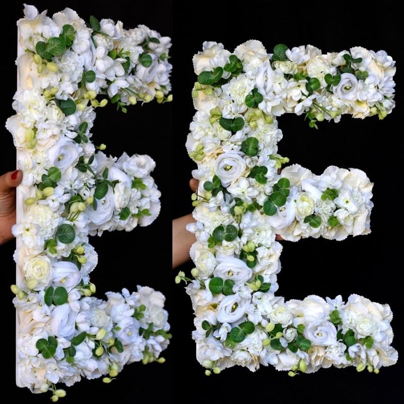 """Kwiatowa """"E"""" 55cm"""