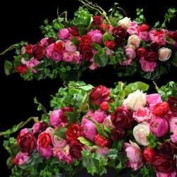 Girlanda kwiatowa Nr 514