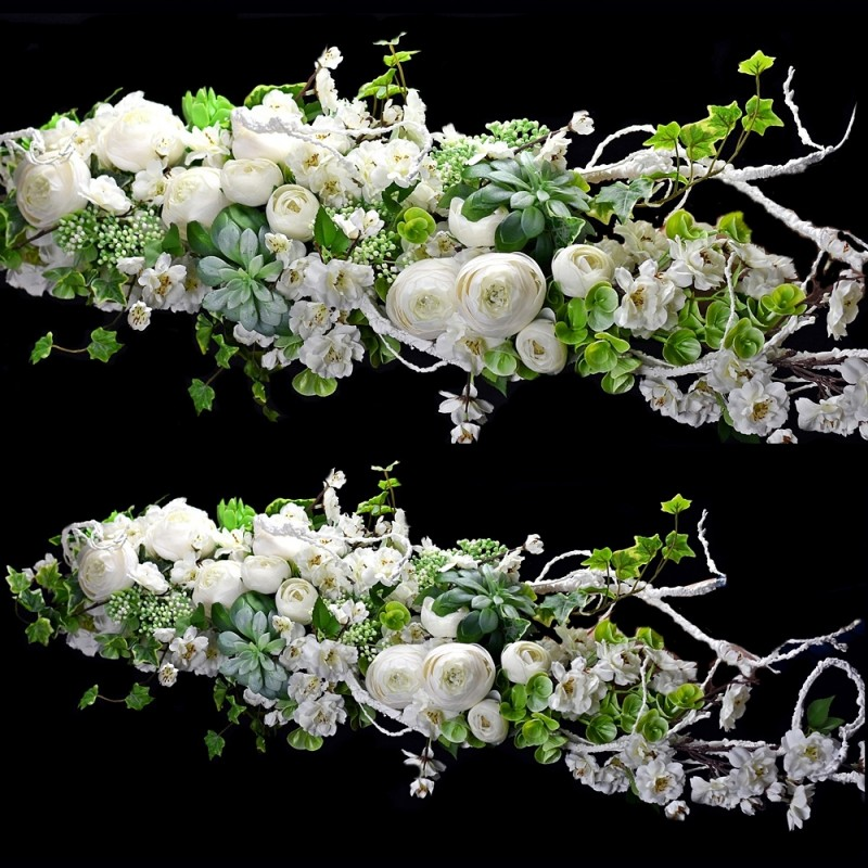 Girlanda kwiatowa Nr 515