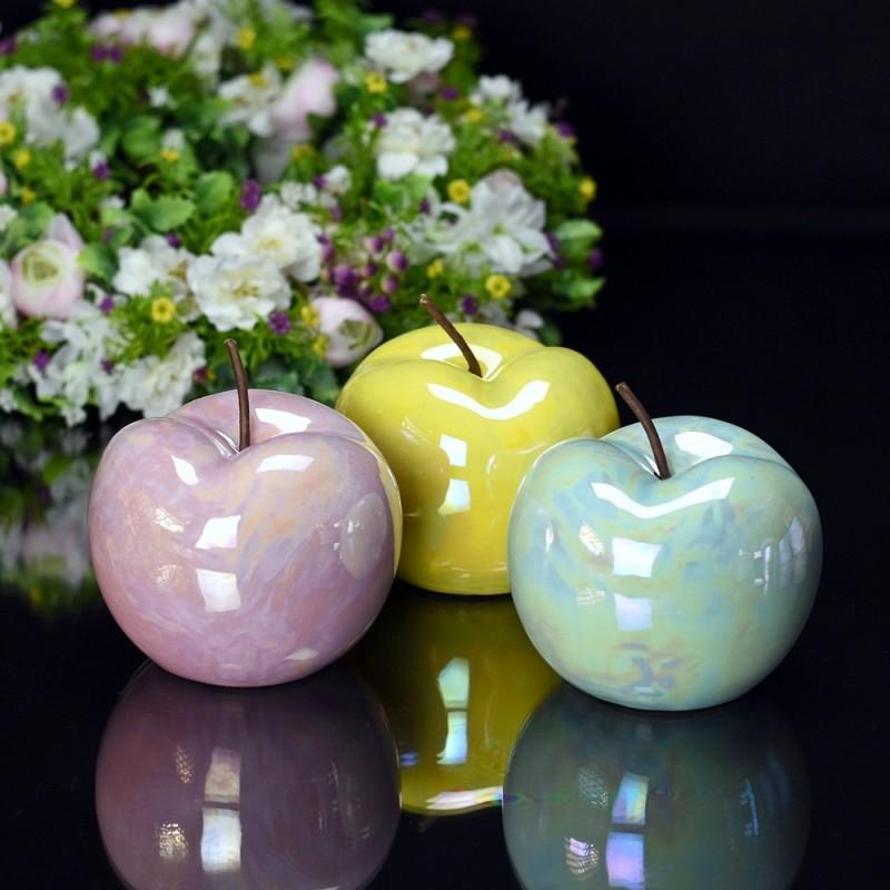 Jabłko perłowe  RÓŻ 12cm
