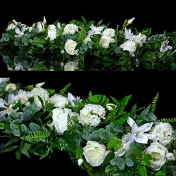 Girlanda kwiatowa Nr 518