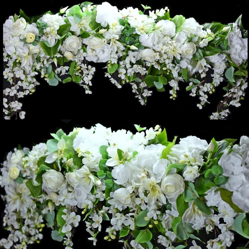 Girlanda kwiatowa Nr 519