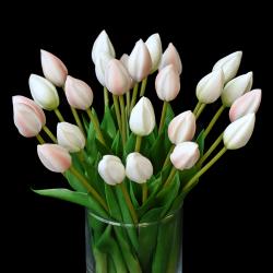 Tulipany w wazonie - 26szt.  Nr 7