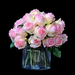 Róże w wazonie - 35szt. NR1
