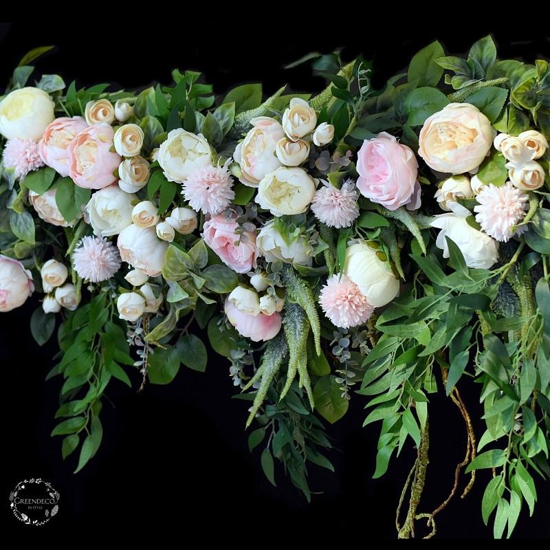 Girlanda kwiatowa Nr 522
