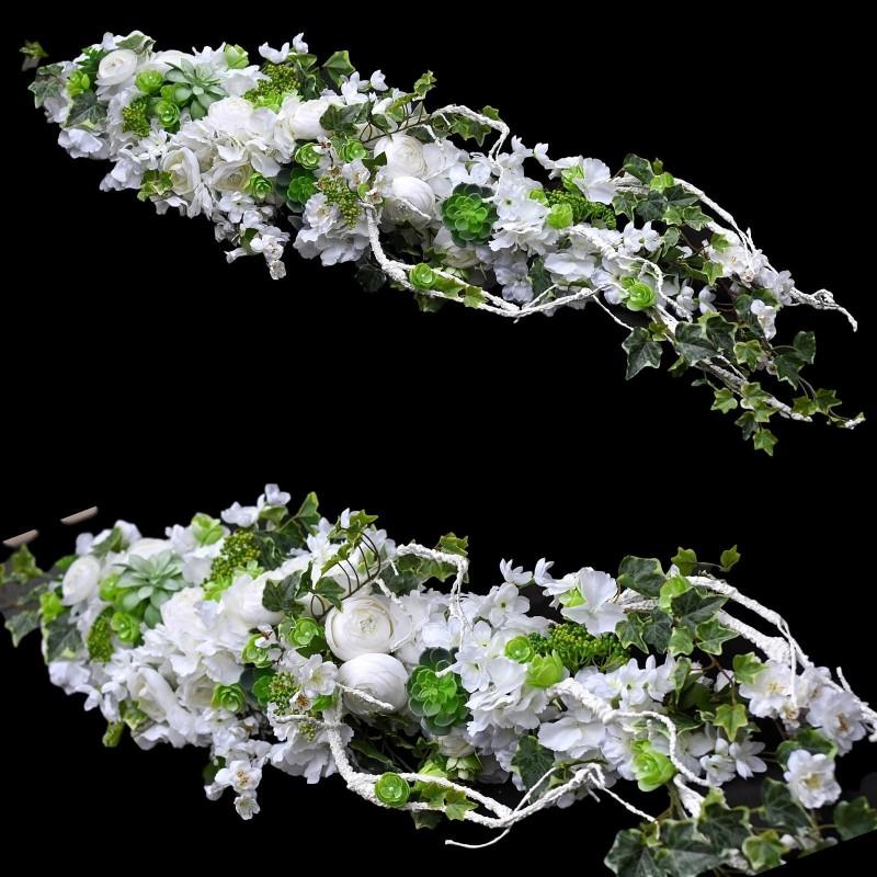 Girlanda kwiatowa Nr 523