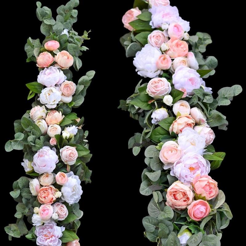 Girlanda kwiatowa Nr 524