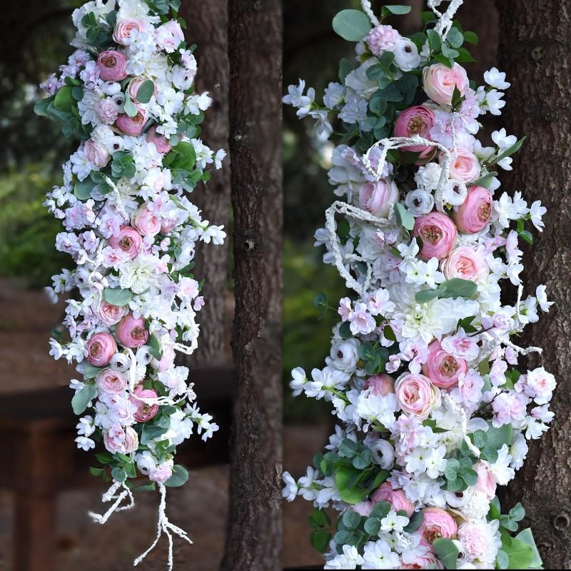 Girlanda kwiatowa Nr 526