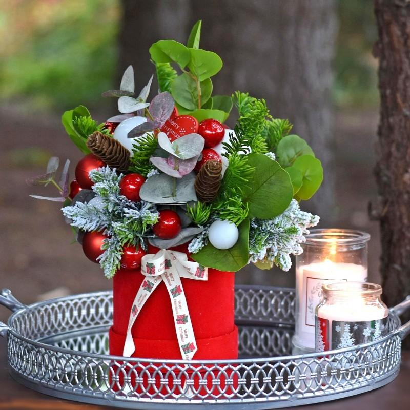 Flowerbox świąteczny Nr 774