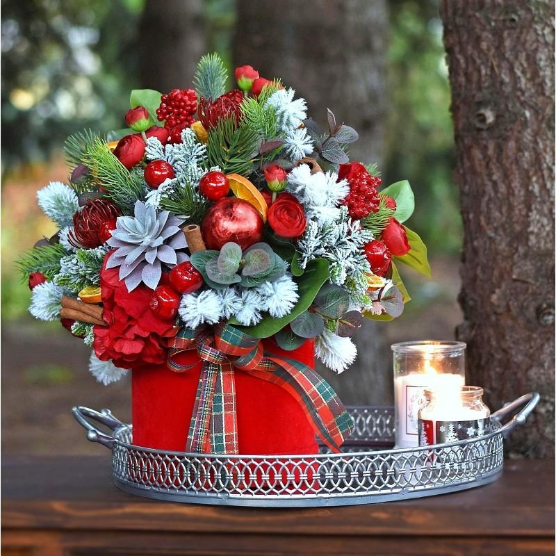 Flowerbox świąteczny Nr 775