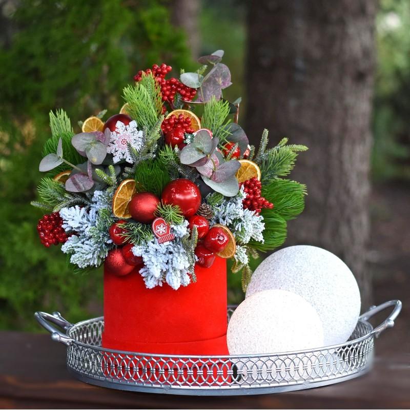 Flowerbox świąteczny Nr 410