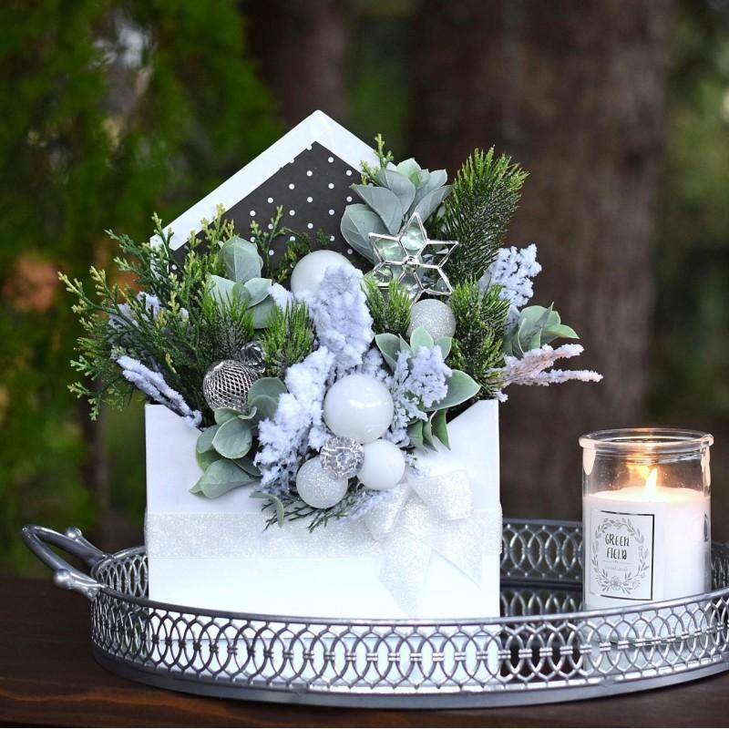 FlowerBox świąteczny 418