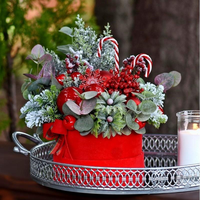 Flowerbox świąteczny Nr 419