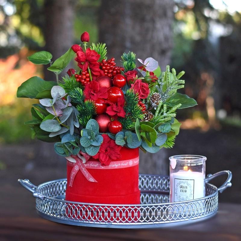 Flowerbox świąteczny Nr 140