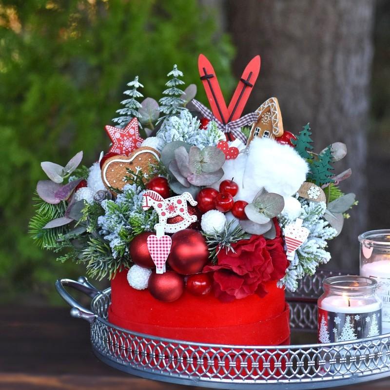 Flowerbox świąteczny Nr 423