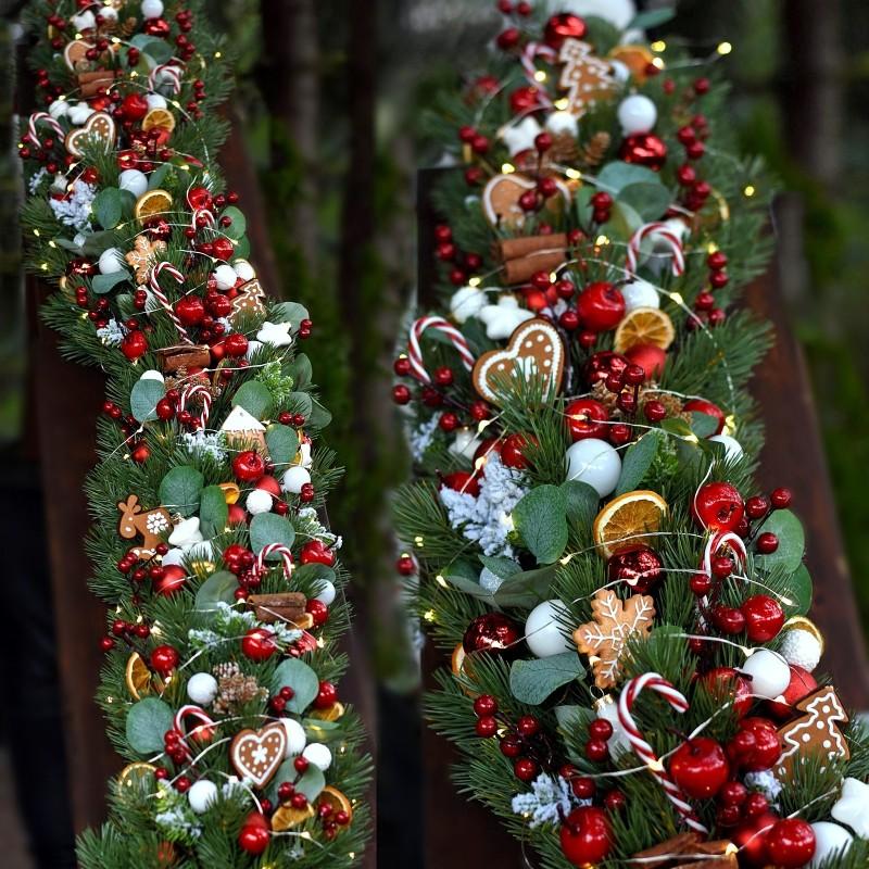 Girlanda świąteczna 634 - 1,5m