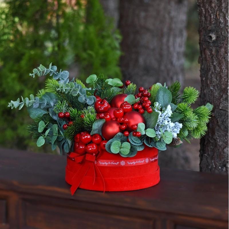 Flowerbox świąteczny NR  746