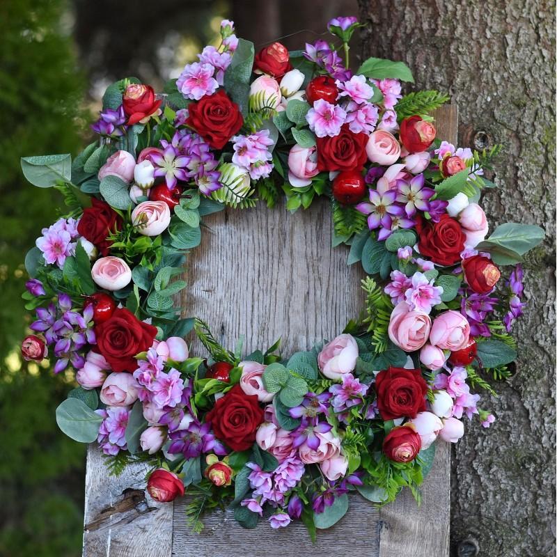 Wianek kwiatowy Nr 483