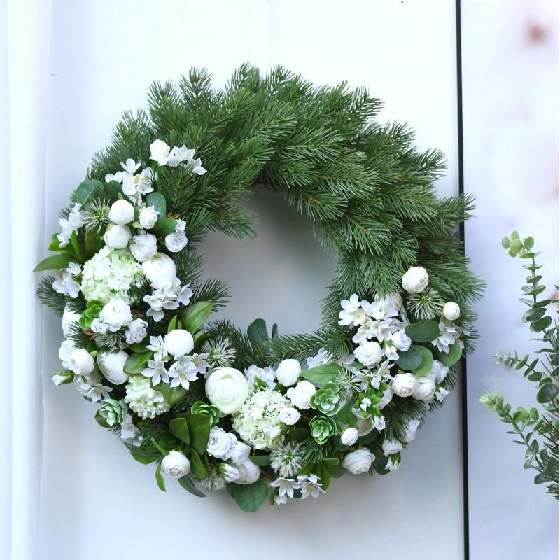 Wianek kwiatowy Nr 518